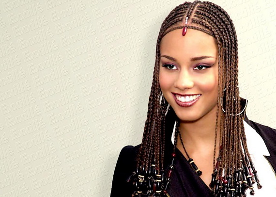 alicia-keys-braided-hairstyle-with-beads