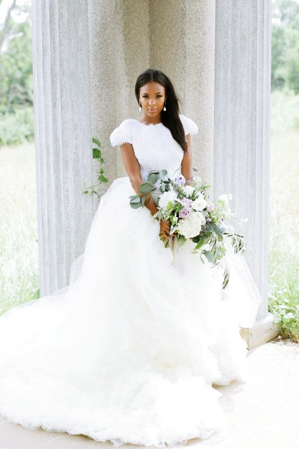 1584023628 517 40 Wedding Dress Ideas For Black Women