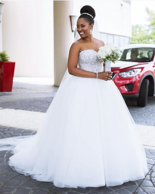 1584023633 479 40 Wedding Dress Ideas For Black Women
