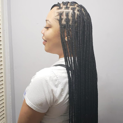 1584599647 27 Ghana Trendy Braids Hairstyles for 2020 Latest Ghana Weaving Hairstyles