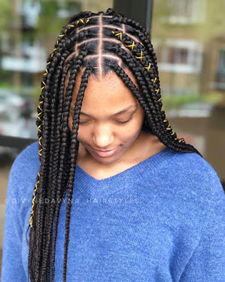 1584599648 204 Ghana Trendy Braids Hairstyles for 2020 Latest Ghana Weaving Hairstyles