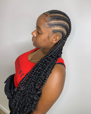 1584599648 405 Ghana Trendy Braids Hairstyles for 2020 Latest Ghana Weaving Hairstyles