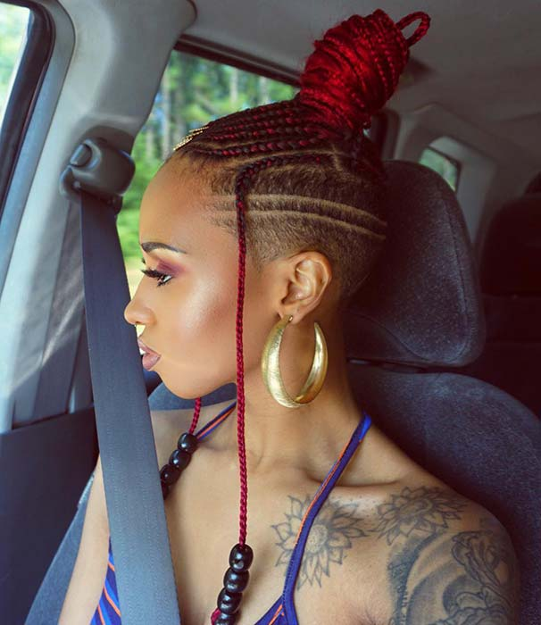 1584733050 328 23 Badass Braids with Shaved Sides for Women