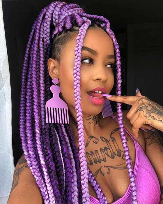 1584733051 810 23 Badass Braids with Shaved Sides for Women