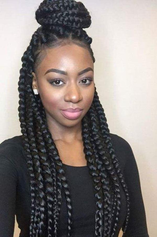 18 black braid hairstyles