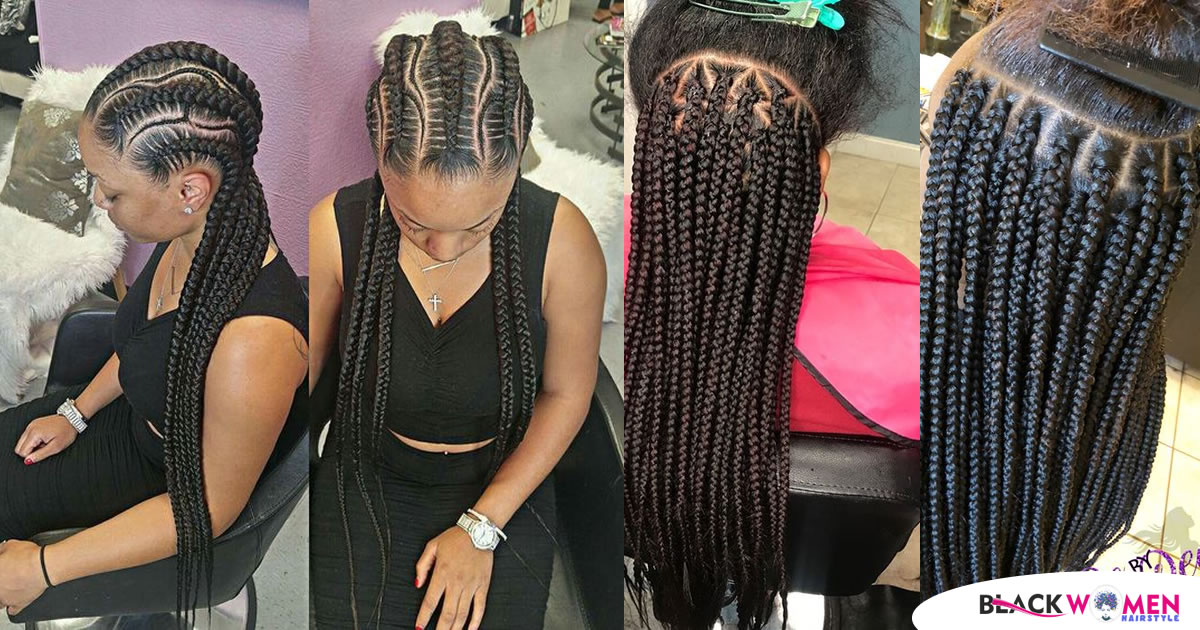 2021 American and African Hair Braiding Cornrows The Beauty Of Natural Hair Board