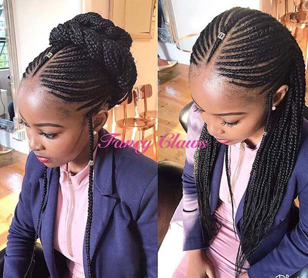 Awe Inspiring 70 Sexy Fulani Braids That Will Blow Your Mind Schematic Wiring Diagrams Amerangerunnerswayorg