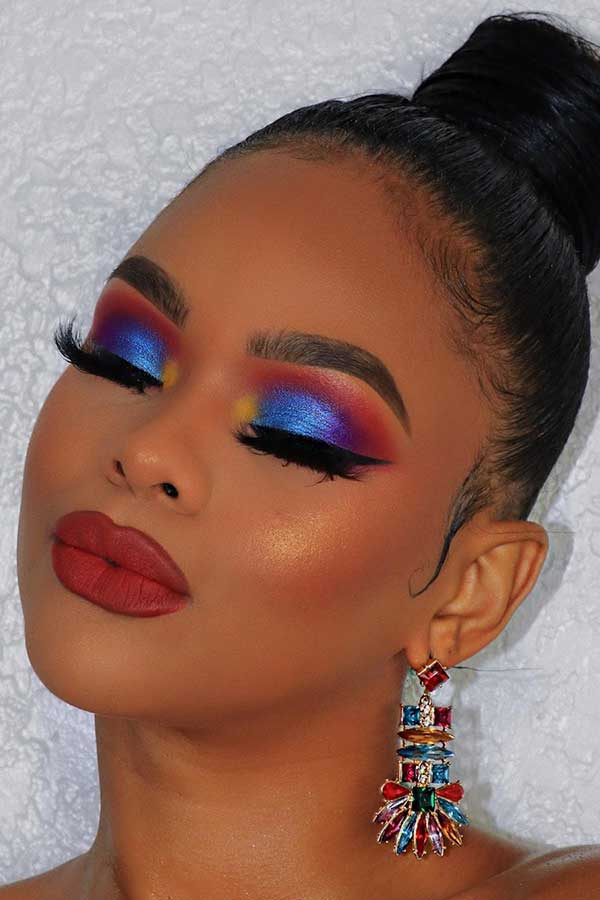 23 Beautiful Make-up Concepts for Black Girls
