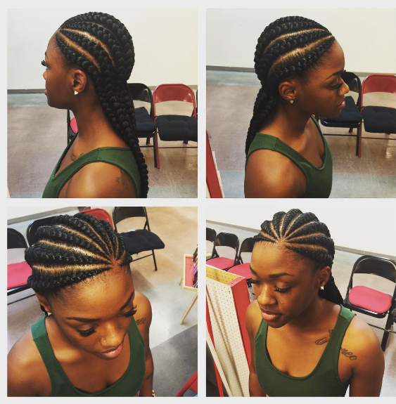 (Part 3) 20+ New Ghana Weaving Hairstyles For Ladies