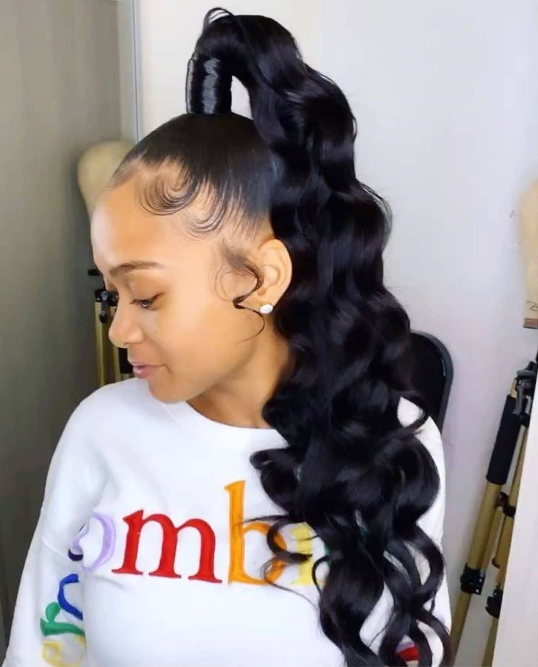 Classy Black Ponytail Hairstyles - The Right Hairstyles