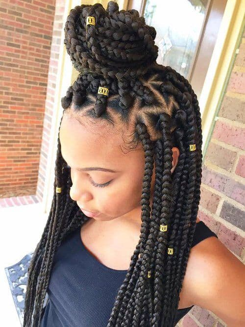 18 DIFFERENT WAYS TO ACCESSORIZE YOUR BOX BRAIDS