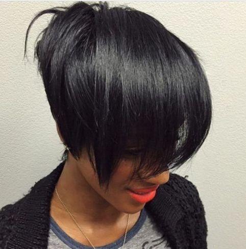 6 super straight black women hairstyle