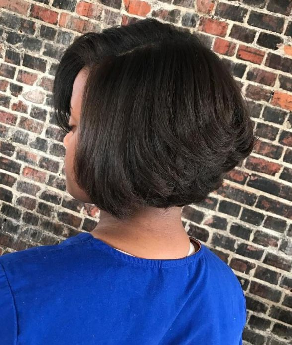 7 inverted bob for thick hair