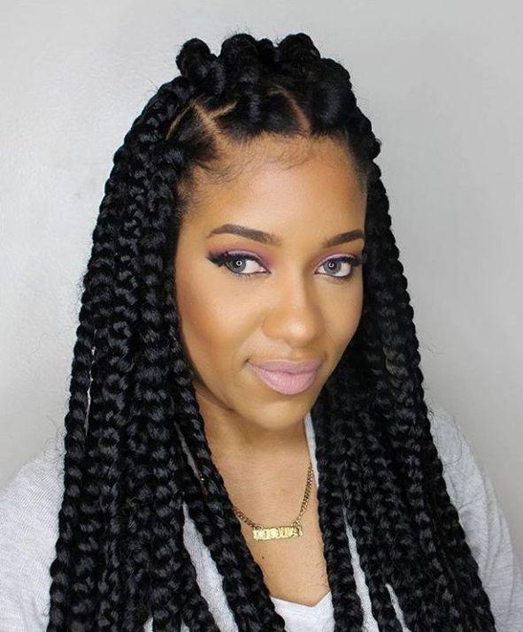 753210 black braid hairstyles