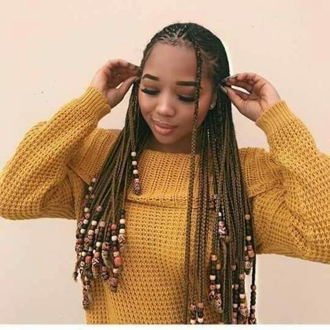 7657 fulani braids