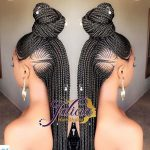 (Part 2) 20+ New Ghana Weaving Hairstyles For Ladies