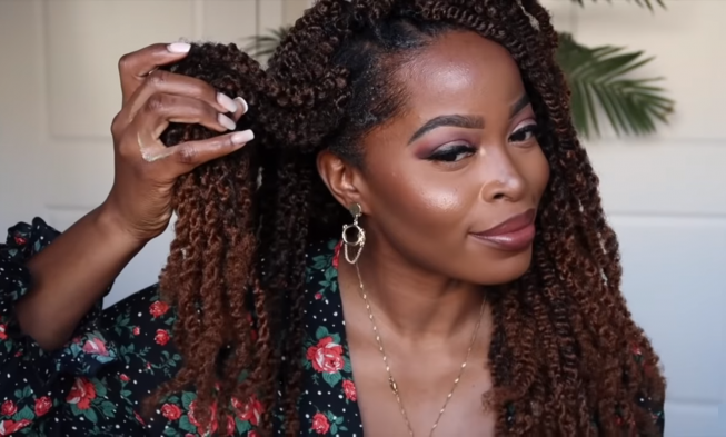 An Easier And Faster Method To Install Crochet Braids With No Cornrows