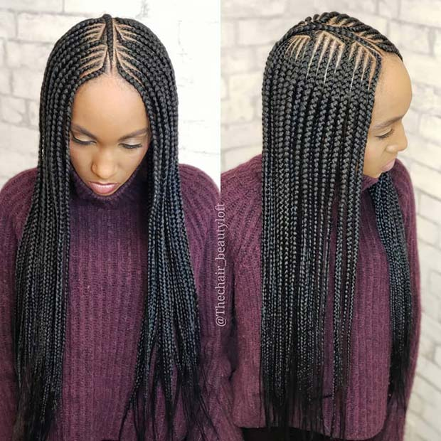 Beautiful and Long Braids