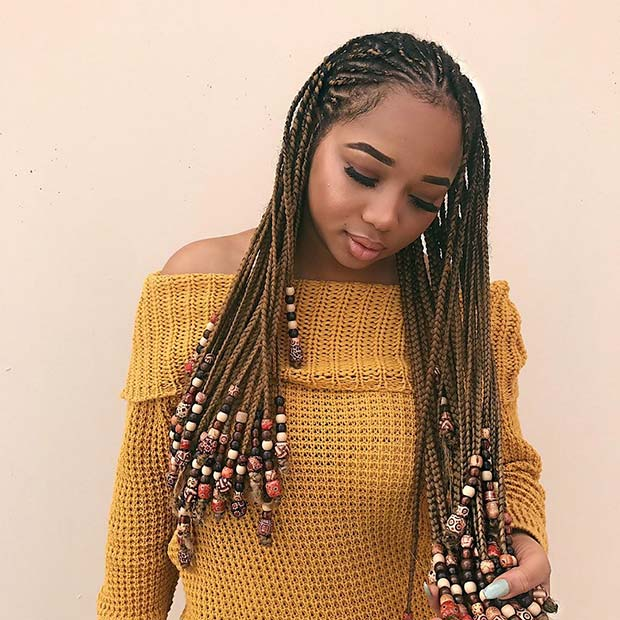 Braids with Beads 1