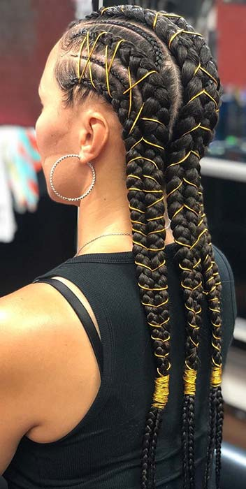 Braids with Cords