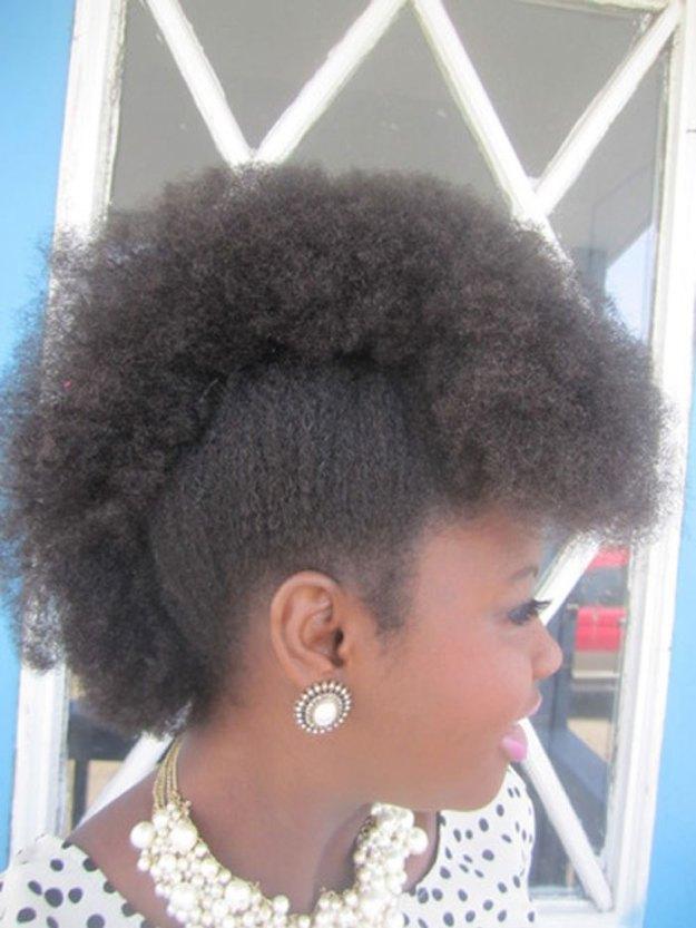 Frohawk natural hair