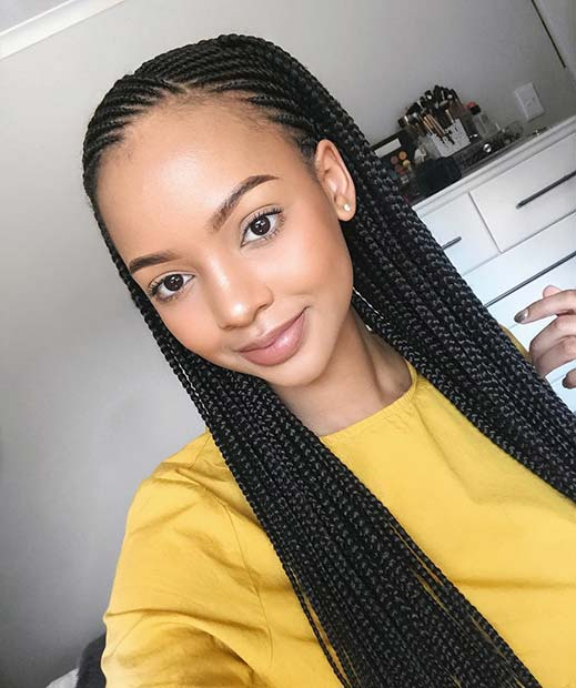 Long Thin Braids