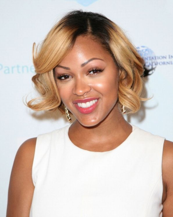 Meagan Good attends the premiere of Think Like A Man Too