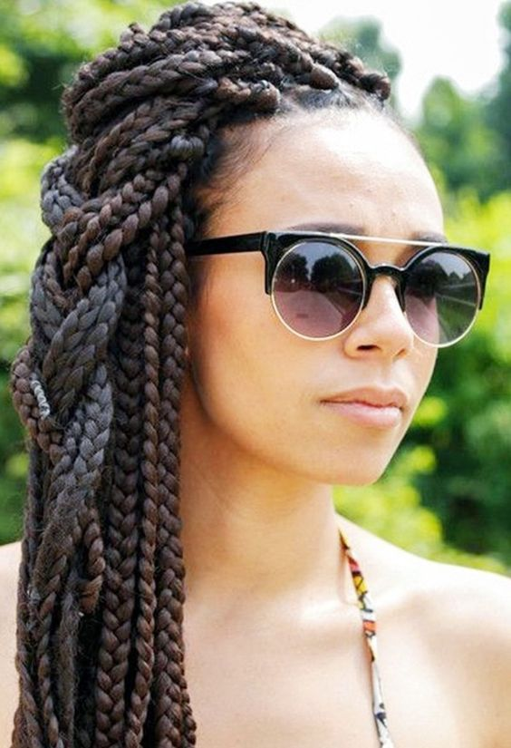 Side braided style