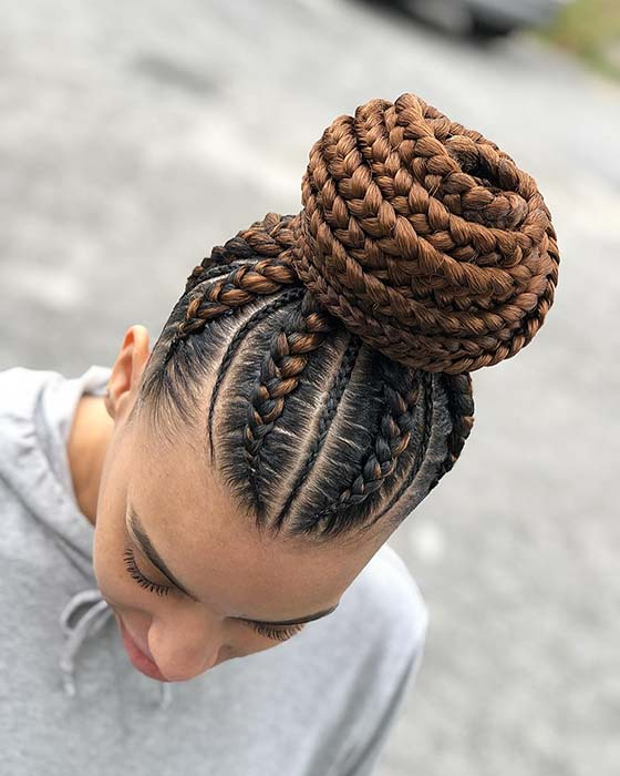 Trendy Braided Bun