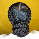 90+ Braided Updos (Protective Style)