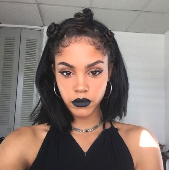 bantu knots for black women hairstyles