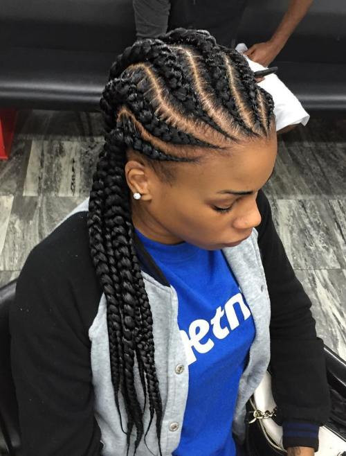 black girl braid hairstyles beautiful 70 best black braided hairstyles that turn heads in 2020 of black girl braid hairstyles