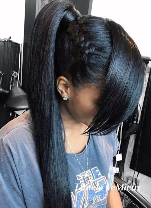black ponytail updo hairstyles best of 30 classy black ponytail hairstyles of black ponytail updo hairstyles 1