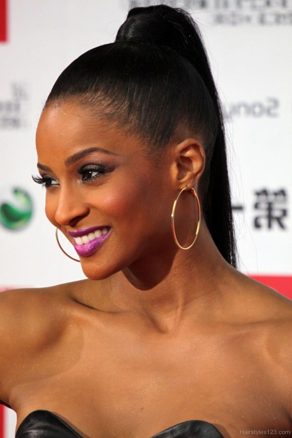 black ponytail updo hairstyles elegant black ponytail hairstyles of black ponytail updo hairstyles