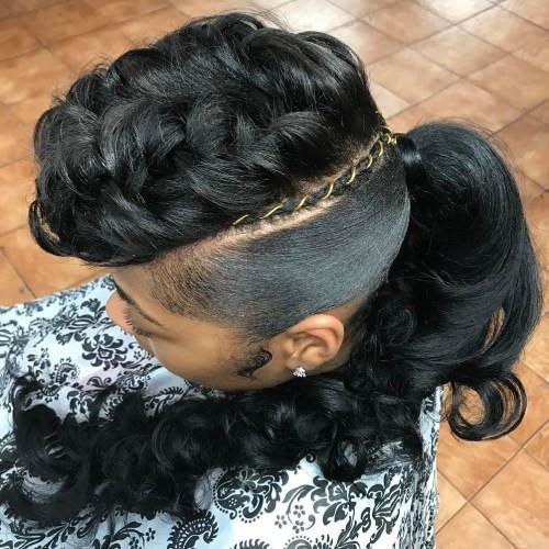 black ponytail updo hairstyles new 30 classy black ponytail hairstyles of black ponytail updo hairstyles