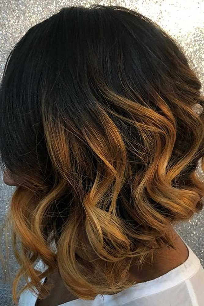 bob hairstyles for black women wavy long