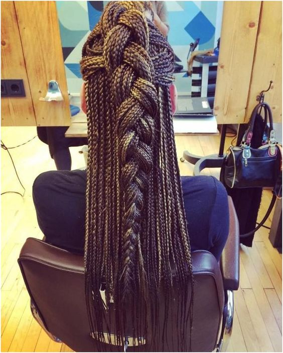 box braids long crochet