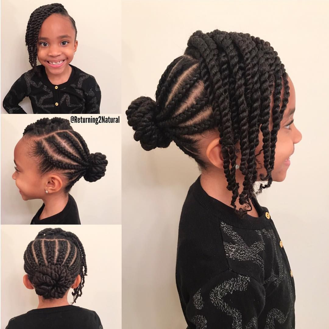 80 Cute Hairstyles For Little Black Girls