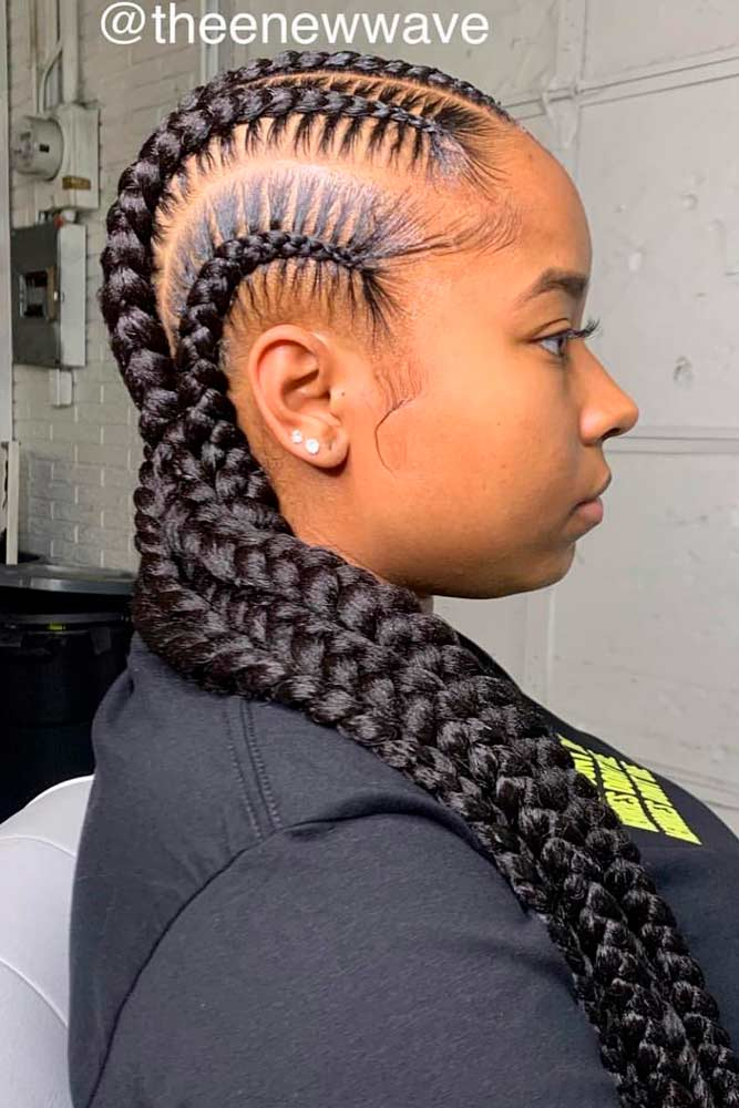 cornrows hairstyles simple straight backs