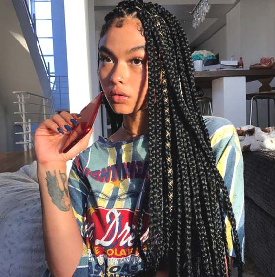 crochet braids hairstyles for summer 2019