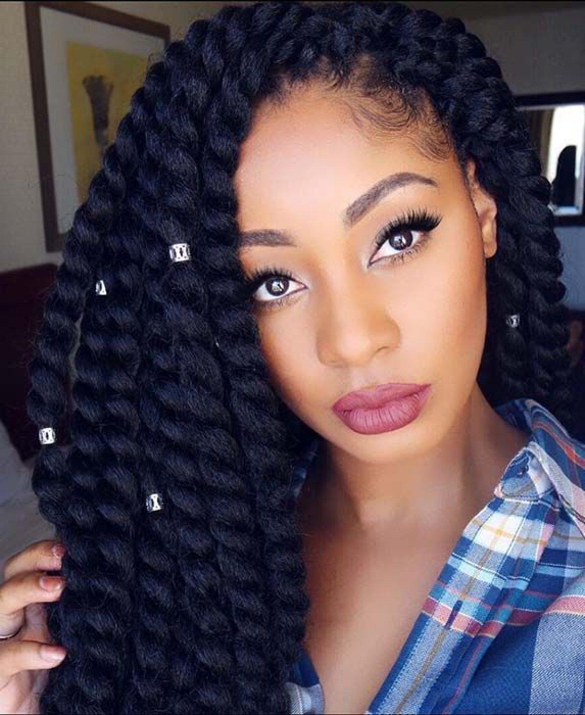 100+ Best Havana Twist Braids Hairstyles 2020 For Black Women