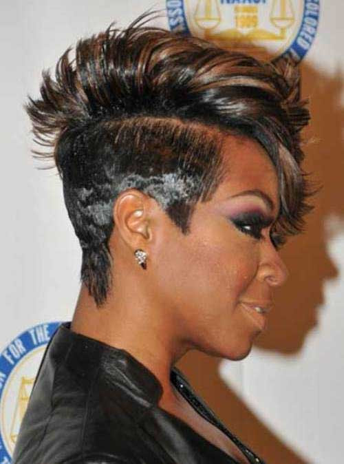 hairstyle for short hair black luxury mohawk short hairstyles for black women of hairstyle for short hair black