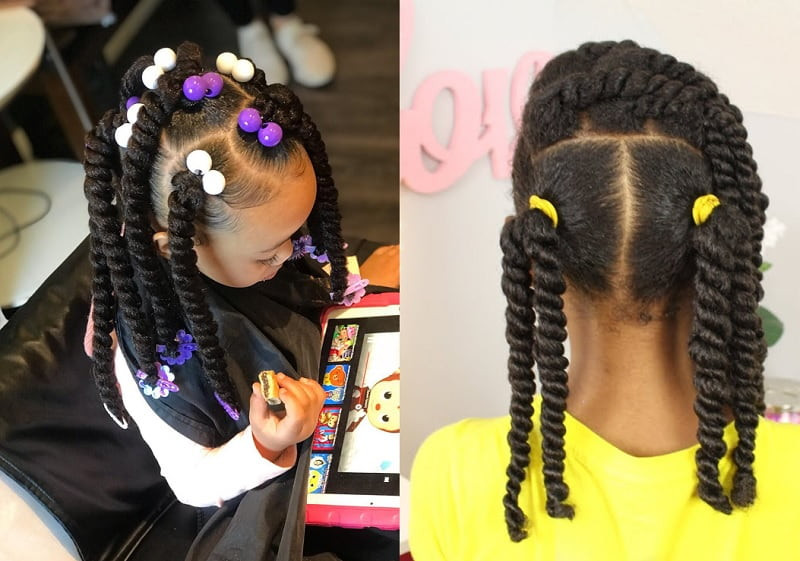 lil girl twist hairstyles beautiful 15 stunning twisted hairstyles for little girls 2020 trend of lil girl twist hairstyles