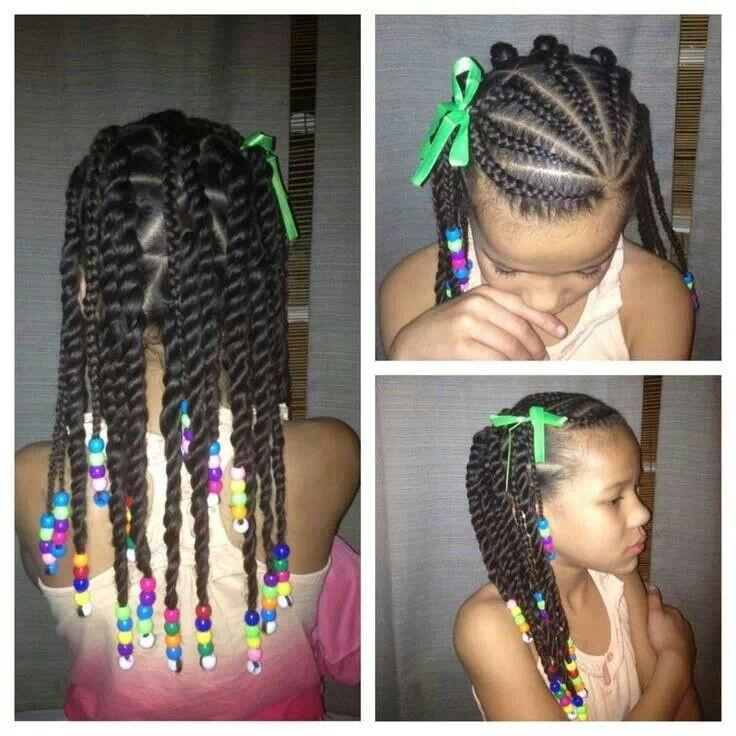 lil girl twist hairstyles elegant kids braid style braids beads amp bunz pinterest of lil girl twist hairstyles