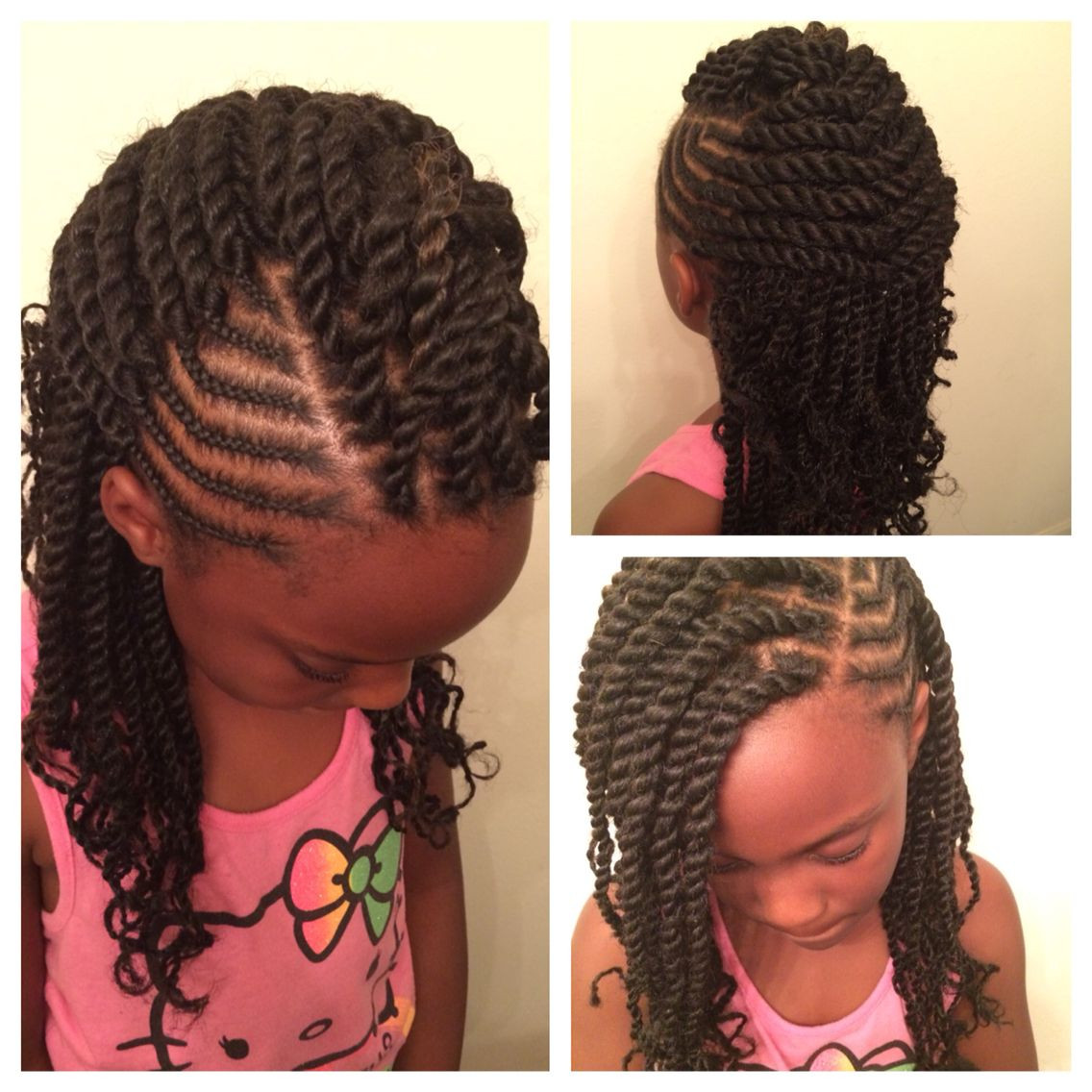 The Best Lil Girl Twist Hairstyles