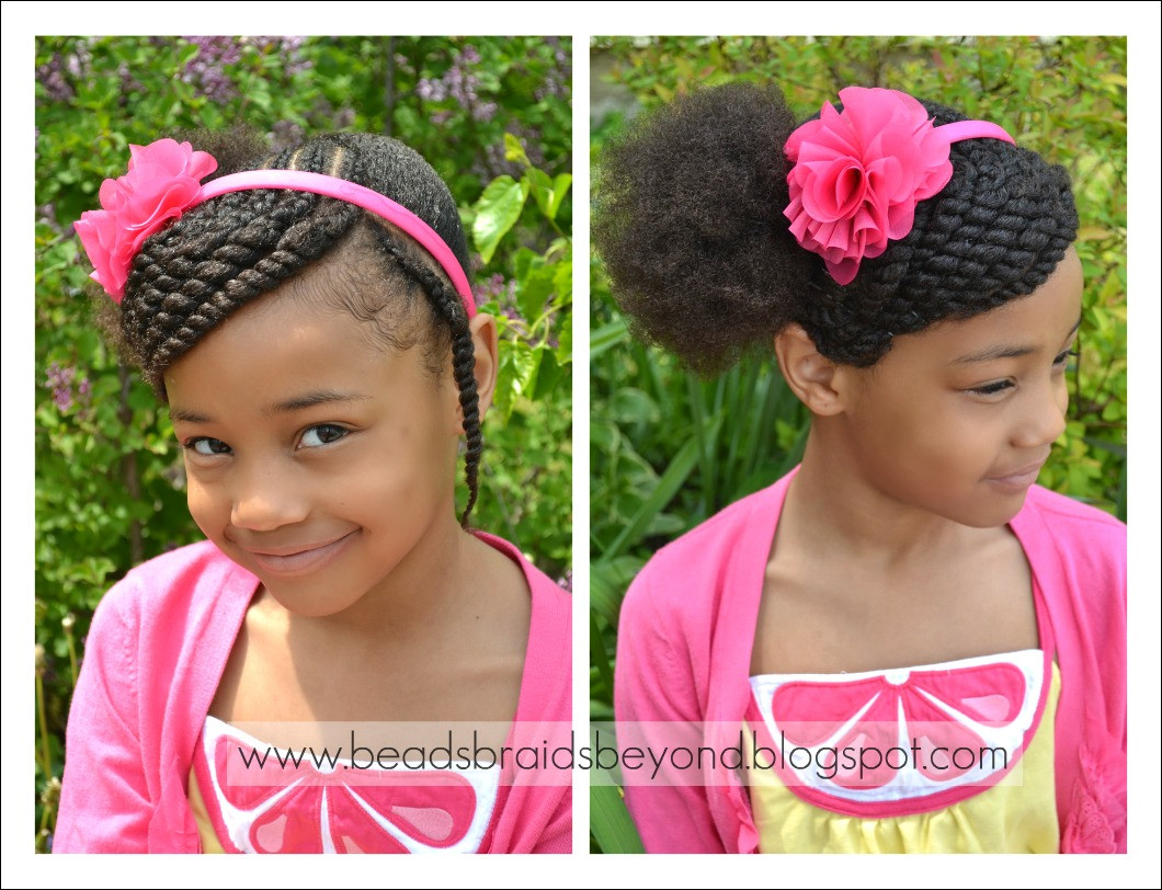 lil girl twist hairstyles lovely beads braids and beyond little girls hairstyle side of lil girl twist hairstyles