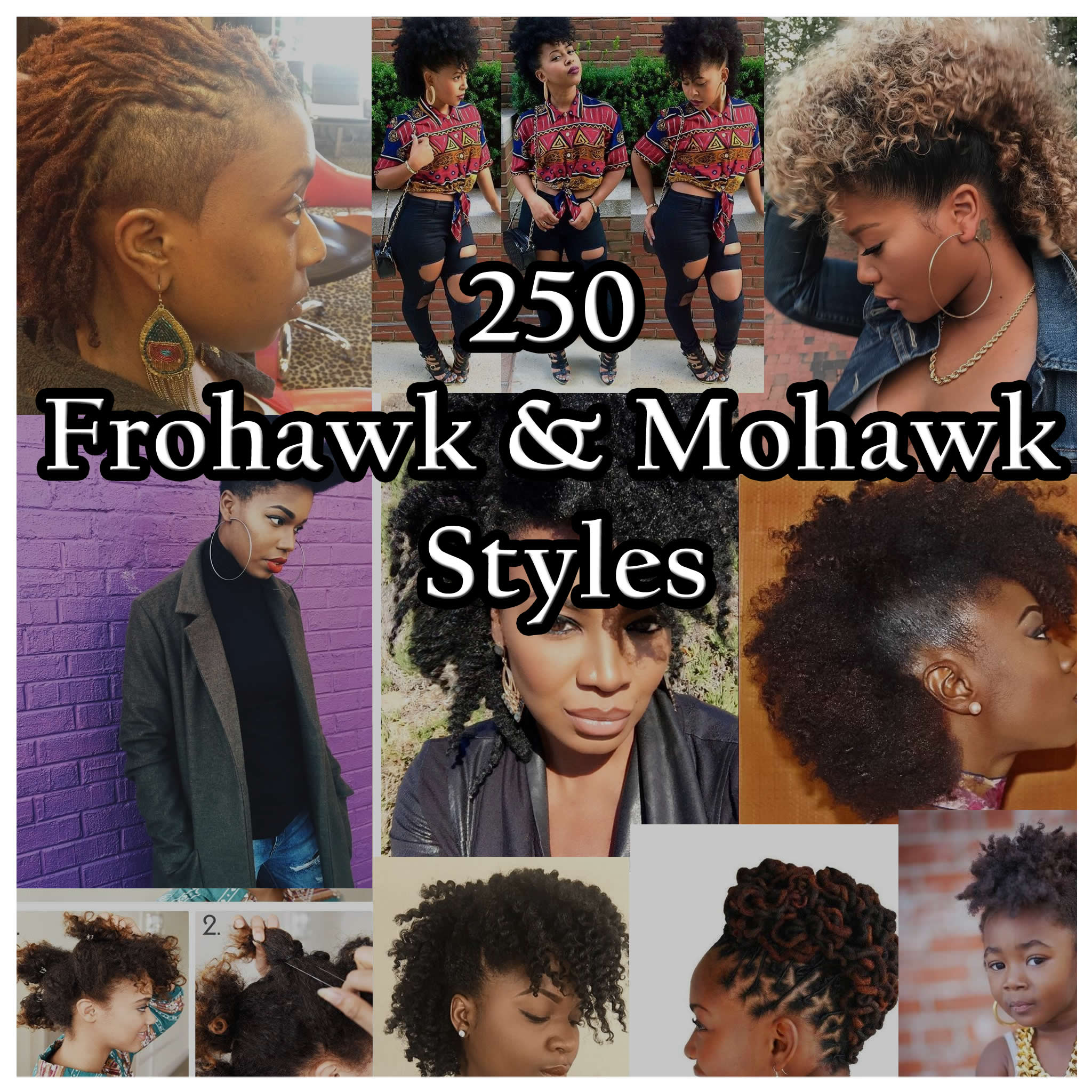 Frohawk & Mohawk Hairstyle 250 Photos Here it is !