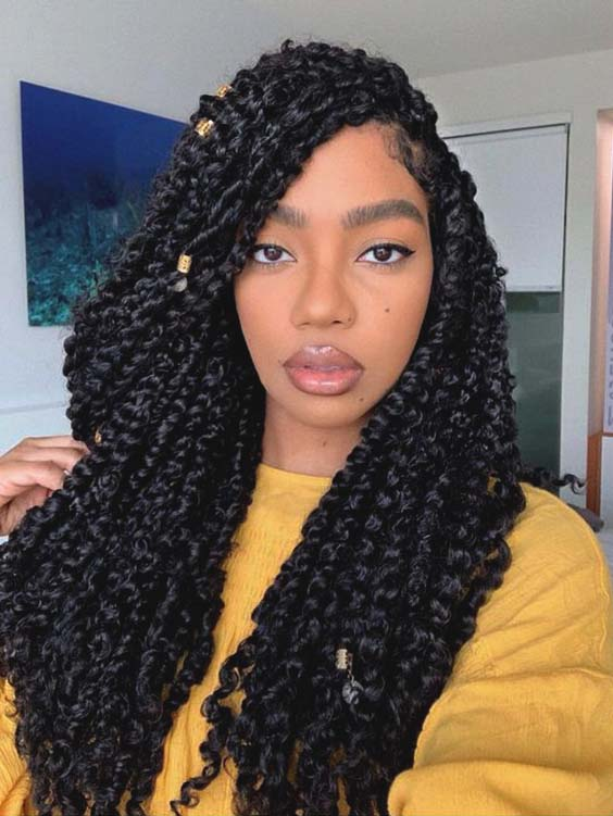 passion twists hairstyles summer hairstyles for black women