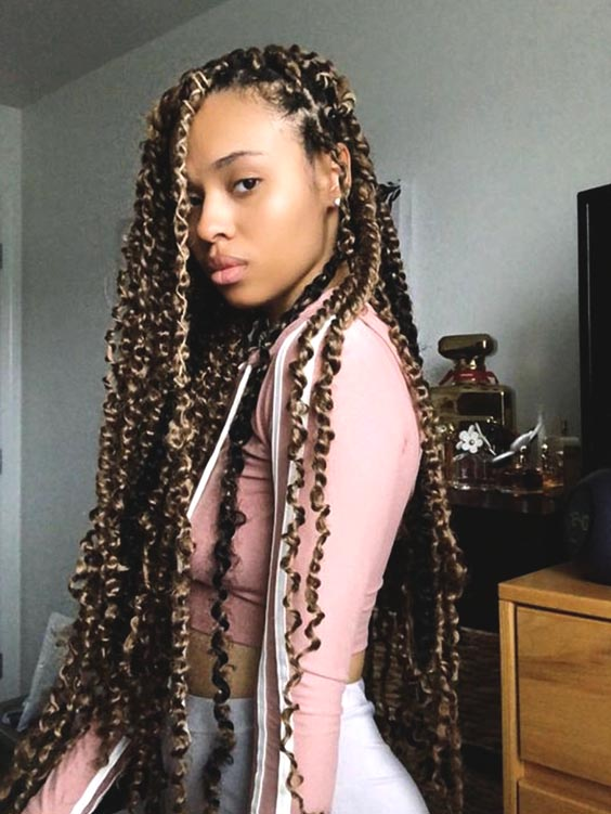 passsion twists ombre protective hairstyle
