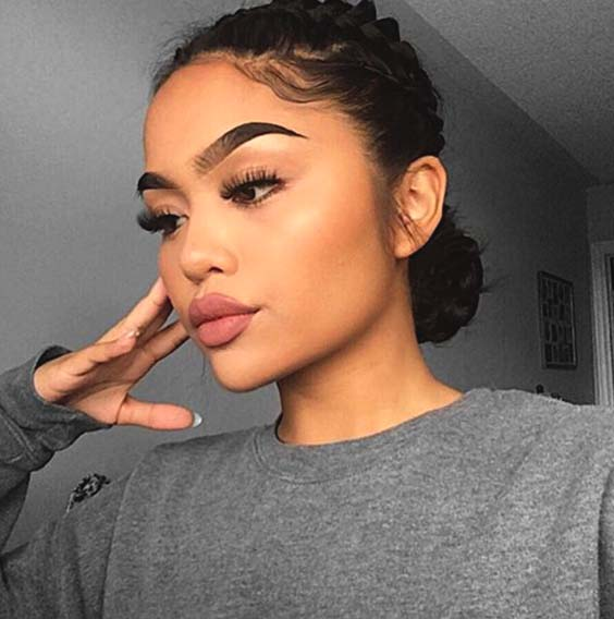 protective bun hairstyles for black women in summer 2019